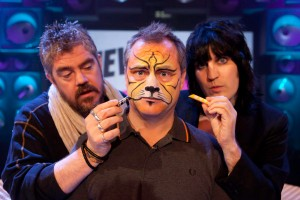 Jack Dee with Face Paint